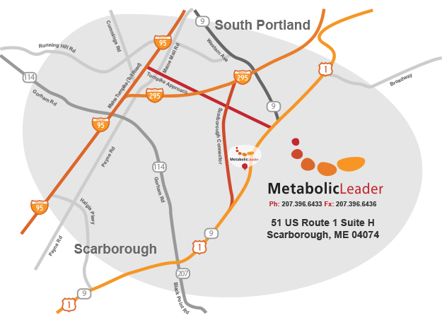Metabolic Leader Map